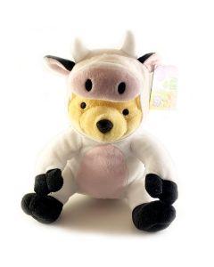 Peluche Winnie the Pooh vestitino Mucca